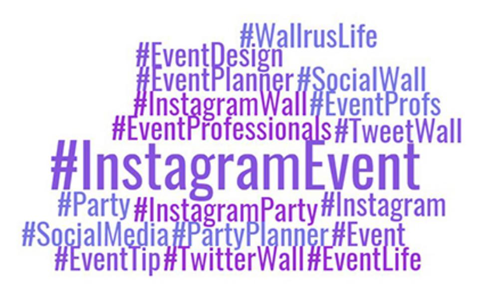 how to create a hashtag for an event